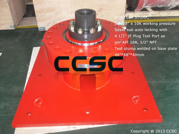 13 5 8 Inch 10 000psi Bop Test Stump Exported To Singapore